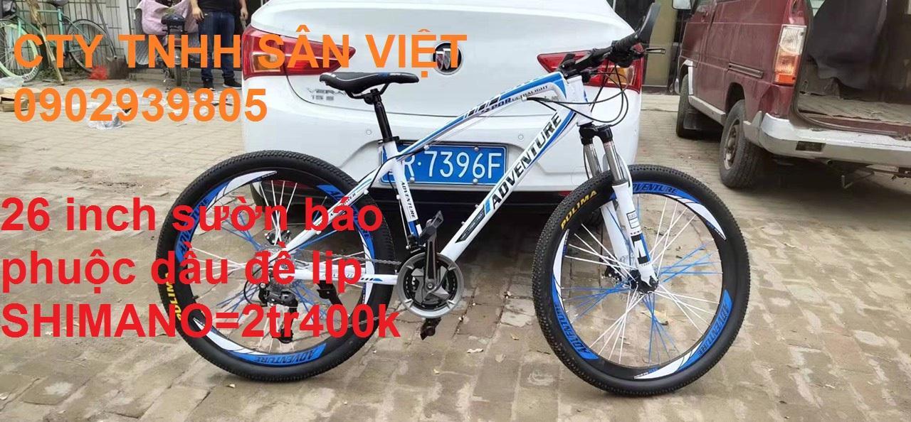 Mua Xe đạp 26 inch sườn báo phuộc dầu đề lip SHIMANO