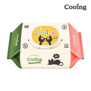 Combo 3 bịch khăn ướt Cooing 100 tờ không mùi thumbnail
