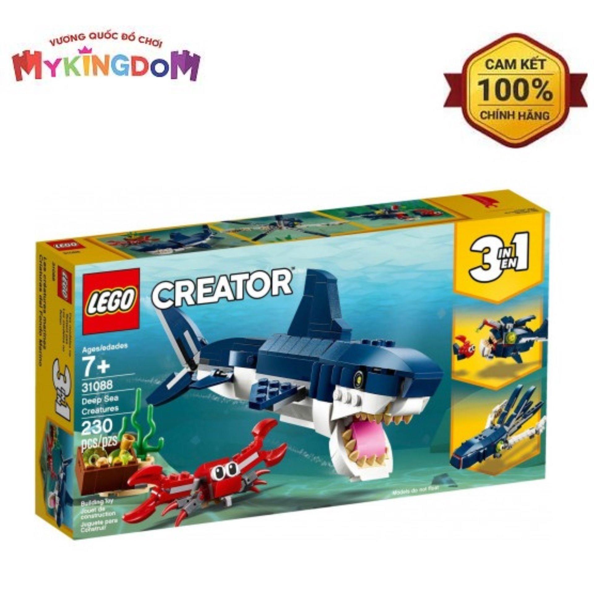 Tiết Kiệm Cực Đã Khi Mua Đồ Chơi Lắp Ráp LEGO Sinh Vật Biển Sâu 31088