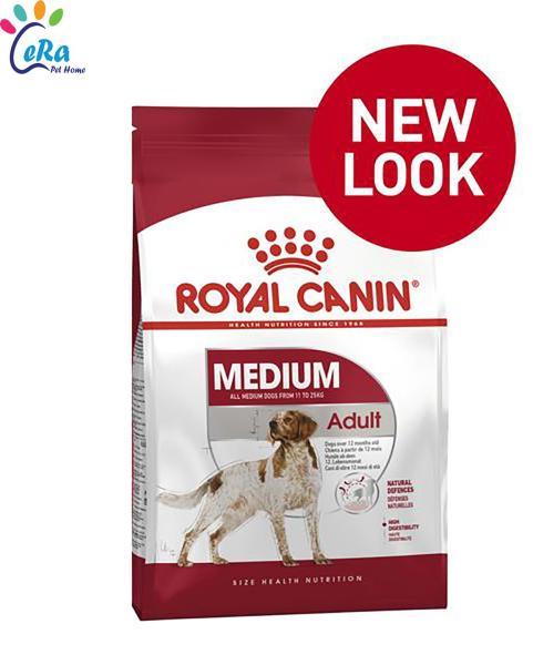 Thức Ăn Cho Chó - Royal Canin Medium Adult 1 Kg