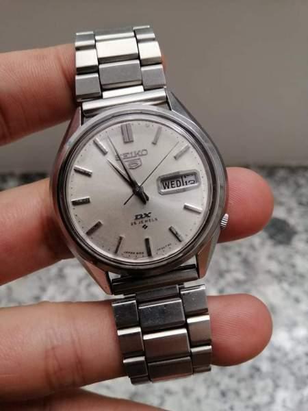 đồng hồ đã qua sử dụng Seiko 5 DX automatic chuẩn Nhật