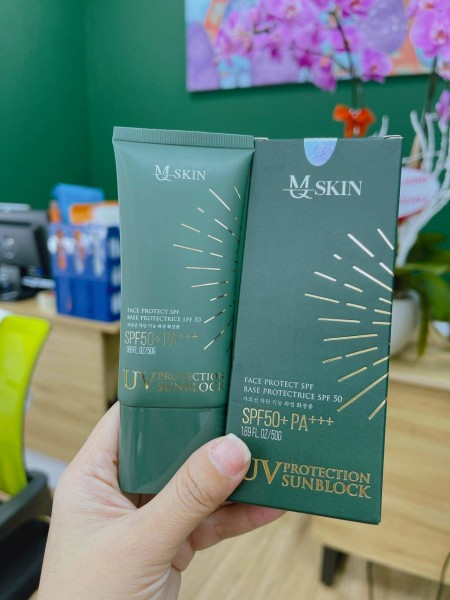Kem Chống Nắng MQ SKIN 50 ml - Hàng Chính Hãng - Kem Chong Nang MQ Skin nhập khẩu