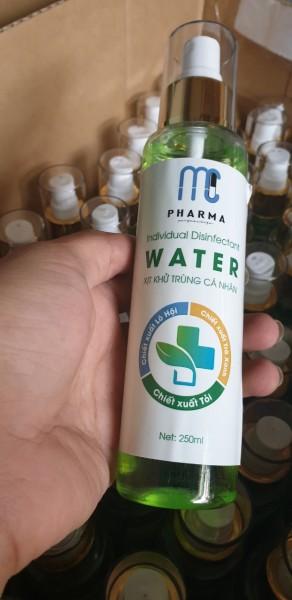 XỊT KHÁNG KHUẨN MC PHARMA WATER 250ml nhập khẩu