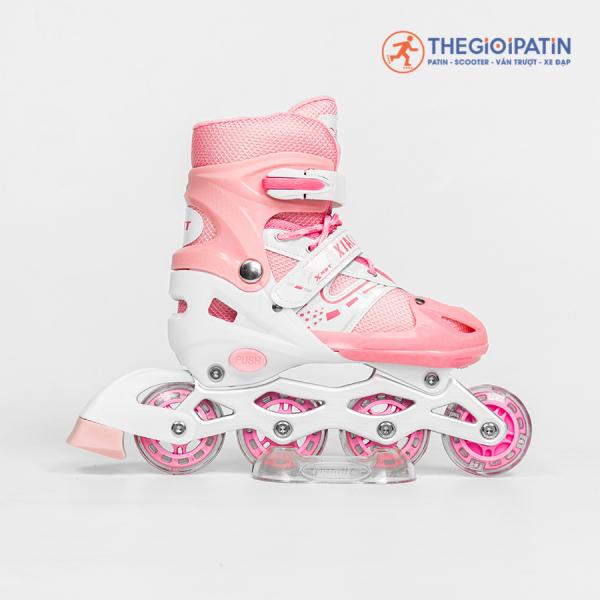 Phân phối Giày patin thê thao BEAR 3 màu Tặng mũ + bảo hộ cho bé