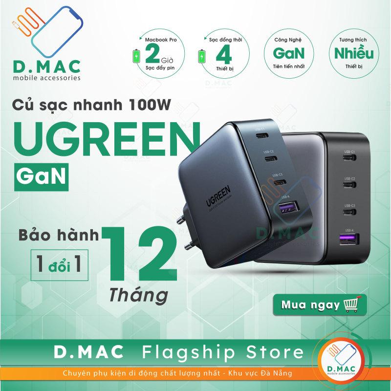 Củ Sạc GaN UGREEN 100w Wall Charger 3C 1A Model: CD226