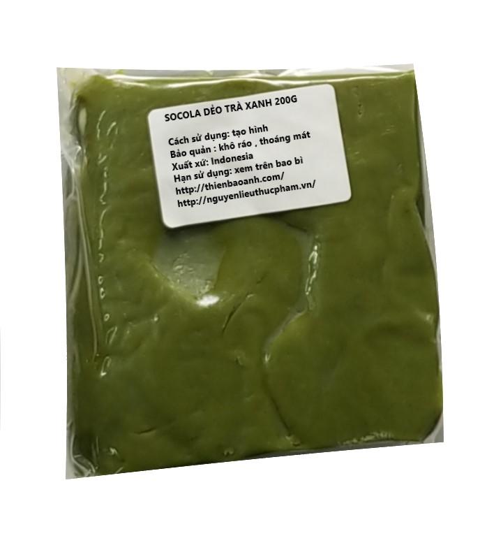 Socola trà xanh  200g