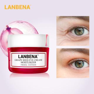 Kem mắt LANBENA chiết xuất hạt nho xoá đốm đen bọng mắt dưỡng ẩm chống lão hoá làm săn chắc vùng da quanh mắt - INTL thumbnail
