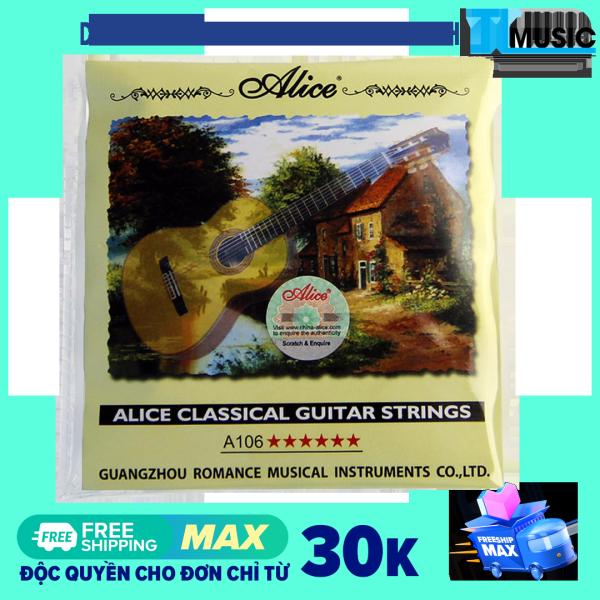 Dây đàn guitar classic Alice A106 - Alice Classical Guitars Strings A106