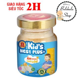 Nước Yến Sào Cao Cấp Thiên Việt Kid s Nest Plus+ Hủ 70ml - Hương Cam thumbnail