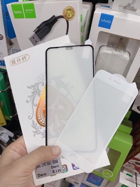 { HOT MỚI VỀ } Kính cường lực iphone dẻo ko lo sứt mẻ uốn nắn thoải mái Iphone 6 tới 11 Pro Max -Tặng bộ phụ kiến dán