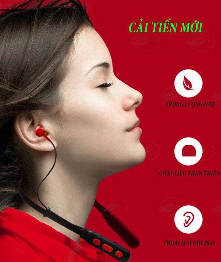 [ HOT –GIẢM 50% NHÂN DỊP SN ] Tai Nghe Thể Thao B11 Bluetooth 4.2 Pin Khỏe Nghe Nhạc Cả Ngày, Tai Nghe Không Dây Có Mic Có Tích Hợp Nam Châm .[kaimono] Đang Ưu Đãi Giá