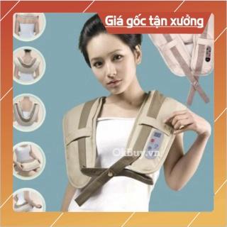 Đai Massage Đấm Lưng, Vai, Cổ, Gáy W-808 Cao Cấp thumbnail