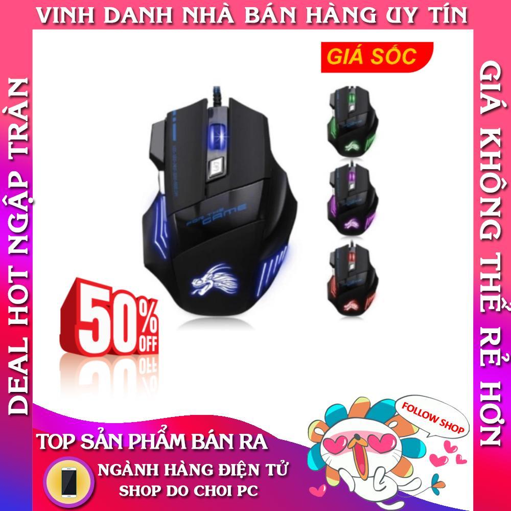 chuột chuyên game IMICE x3 có đèn led (đen phối xanh) -Hàng phân phối chính hãng- Bảo Hành 06 tháng