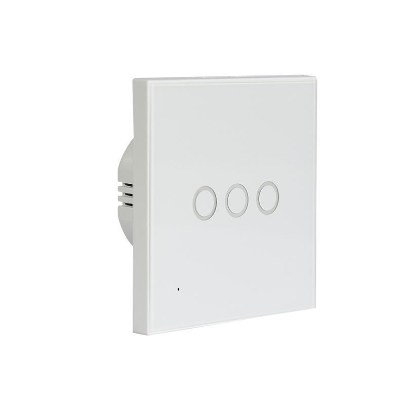 Công tắc cảm ứng âm tường Wifi thông minh 3 nút NAS-SC03W