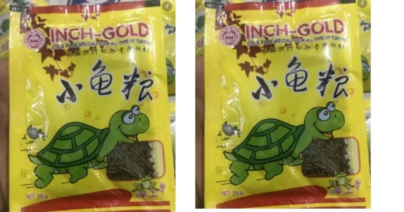 Thức ăn bổ sung VITAMIN VÀ KHOÁNG CHẤT có trong rau cho rùa nước baby (01 gói 25gram)