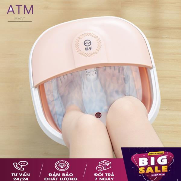 Chậu ngâm chân massage cắm điện gấp gọn, Bồn Ngâm Massage Chân Cắm Điện gấp gọn trừ phong thấp, lưu thông khí huyết-Thùng mát xa chân thư giãn ( HỖ TRỢ ĐỔI TRẢ 7 NGÀY)