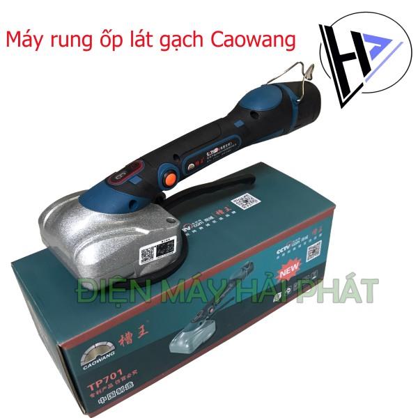 Máy ốp lát gạch dùng pin Caowang TP701-2 chức năng đầm rung+hít gạch-Pin 2200mAh