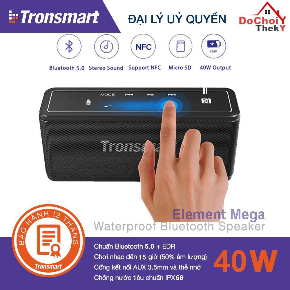 Loa Tronsmart Element Mega Bluetooth 5.0 Loa di động 40W Colums Touch Control Soundbar hỗ trợ Trợ lý giọng nói,...