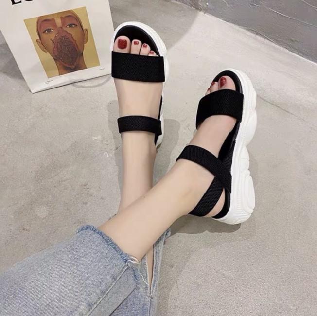 Sandal nữ / sandal đế xuồng bánh mì / sandal quai hậu cực xinh giá rẻ