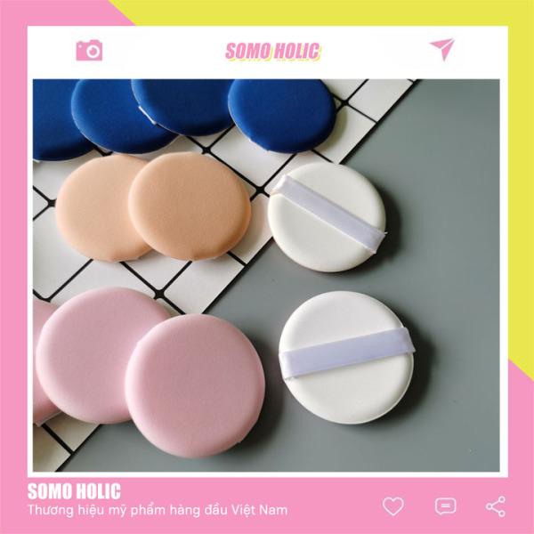 Mút tròn tán kem nền phấn nước BB Cushion Hàn Quốc Somoholic DCTD2