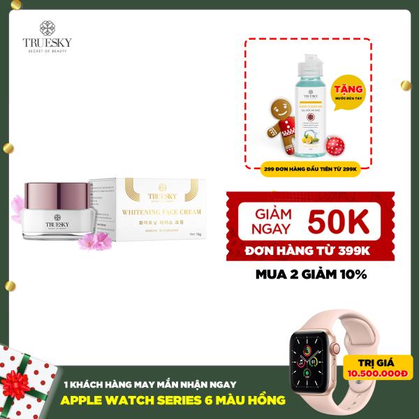 Kem dưỡng trắng da mặt Truesky cấp tốc dạng lotion chiết xuất ngọc trai chính hãng 15g - Whitening Face Cream
