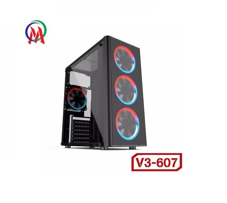 Case VSP V3-607 Gaming-Trong Suốt
