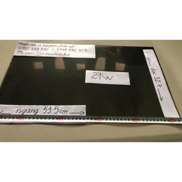 Bảng giá Phim phân cực 24inch wide (hình chữ nhật) để dán cho màn hình LCD, tivi, hmi,laptop, điện thoại , odo xe máy