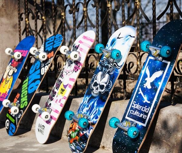 Mua Ván Trượt Thể Thao Trục Kim Loại Cỡ Lớn Vân Họa Tiết Cao Cấp,Ván Trượt Skateboard Cao Cấp, Ván Trượt Mặt Nhám Bánh Cao Su Cỡ Lớn (Đạt Chuẩn Thi Đấu) Ván Trượt Thể Thao Gỗ Phong Ép 8 Lớp