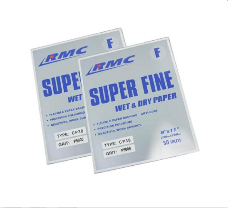 Xấp 50 tờ giấy nhám mịn RMC CP38 số 5000 Grit