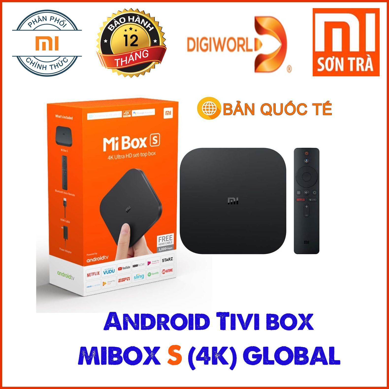 Bảng giá Android Tivi Box Xiaomi MiBox S 4K (MDZ-22-AB) - Hàng Chính Hãng Digiworld