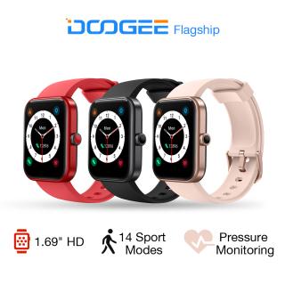Đồng hồ thông minh DOOGEE CS2 Pro dành cho iOS & Android Đồng hồ thông minh chống nước 5ATM theo dõi thể dục với màn hình cảm ứng 1,69 Màn hình cảm ứng SpO2 Bộ đếm bước đi được tích hợp trong Đồng hồ thông minh thể dục Alexa dành cho phụ nữ và nam giới thumbnail
