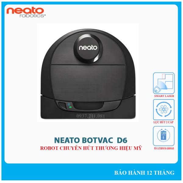 Robot hút bụi Neato Botvac D6 Connected chính hãng - Bảo hành 12 tháng.