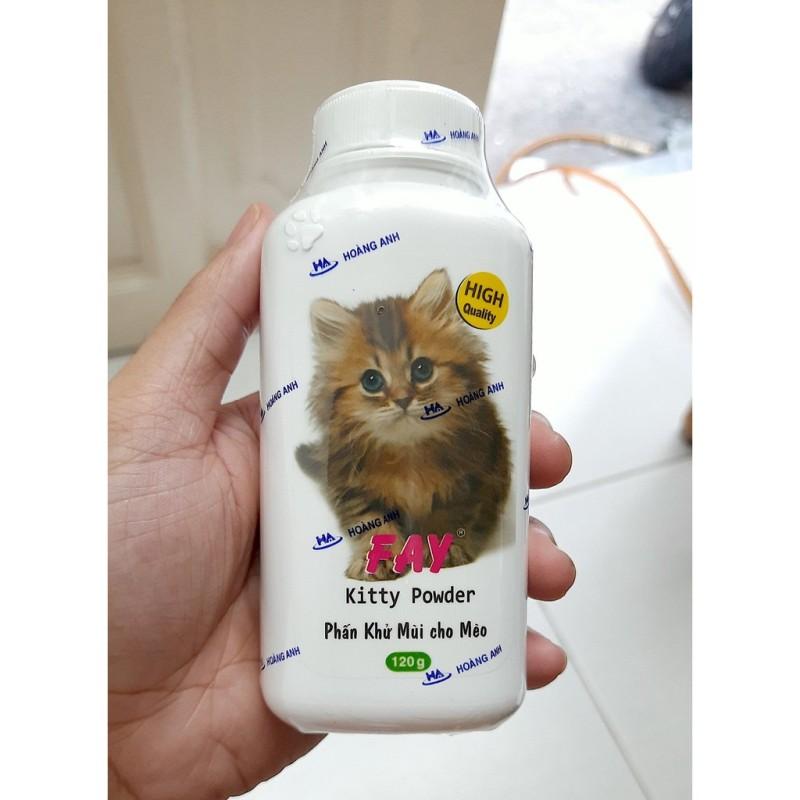 Phấn tắm khô Fay Puppy 120g Cho chó mèo con - Cutepets