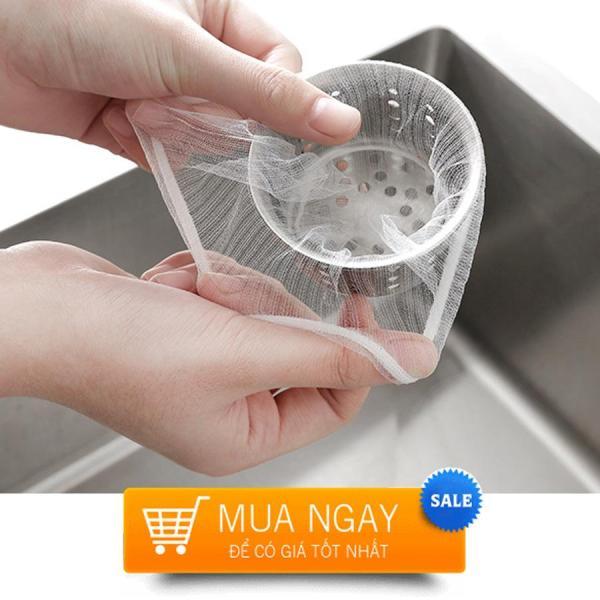 Bảng giá [Combo 100] Túi lưới lọc rác dùng cho bồn rửa bát, ống cống tránh tắc nghẽn ống nước dạng lưới
