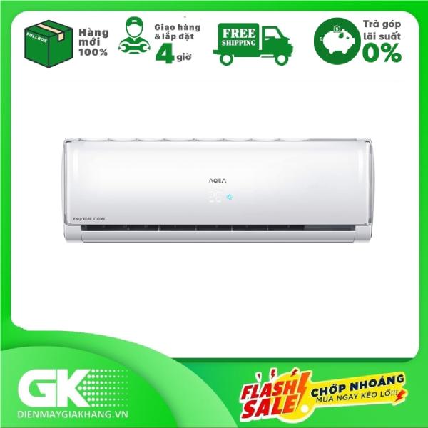 Bảng giá [Nhập ELMAY21 giảm 10% tối đa 200k đơn từ 99k]Máy lạnh Aqua Inverter 1 HP AQA-KCRV10TH