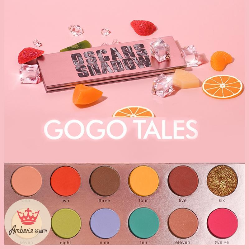 Phấn mắt 12 Màu  Gogo Tales Tone Sáng L1735 nhập khẩu