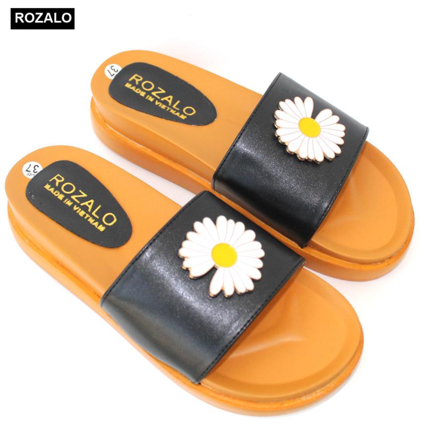 Dép lê nữ hoa cúc Rozalo R2800 giá rẻ