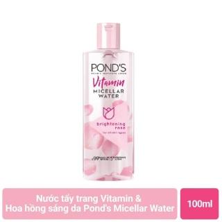 Nước tẩy trang làm sáng da Pond s White Beauty Micellar Water Vitamin và chiết xuất Hoa hồng 100ml - Nước tẩy trang Pond s - Mỹ phẩm Mộc Lan thumbnail