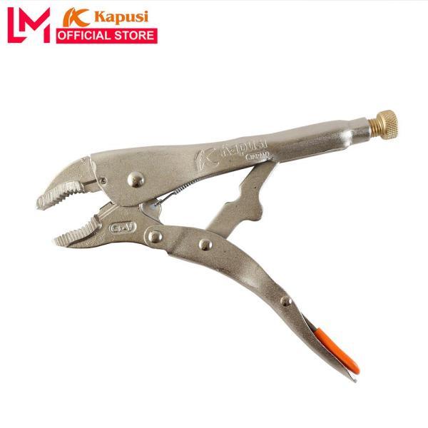 Kìm chết mỏ cong Kapusi 10 /250mm