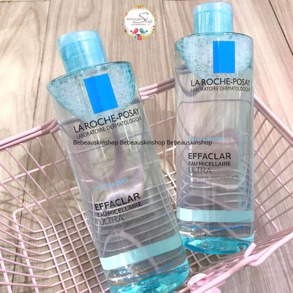 Nước Tẩy Trang La Roche-Posay Effaclar Micellar Water Ultra Oily Skin Cho Da Dầu, Nhạy Cảm 400ml -  BeBeau Skin Shop giá rẻ