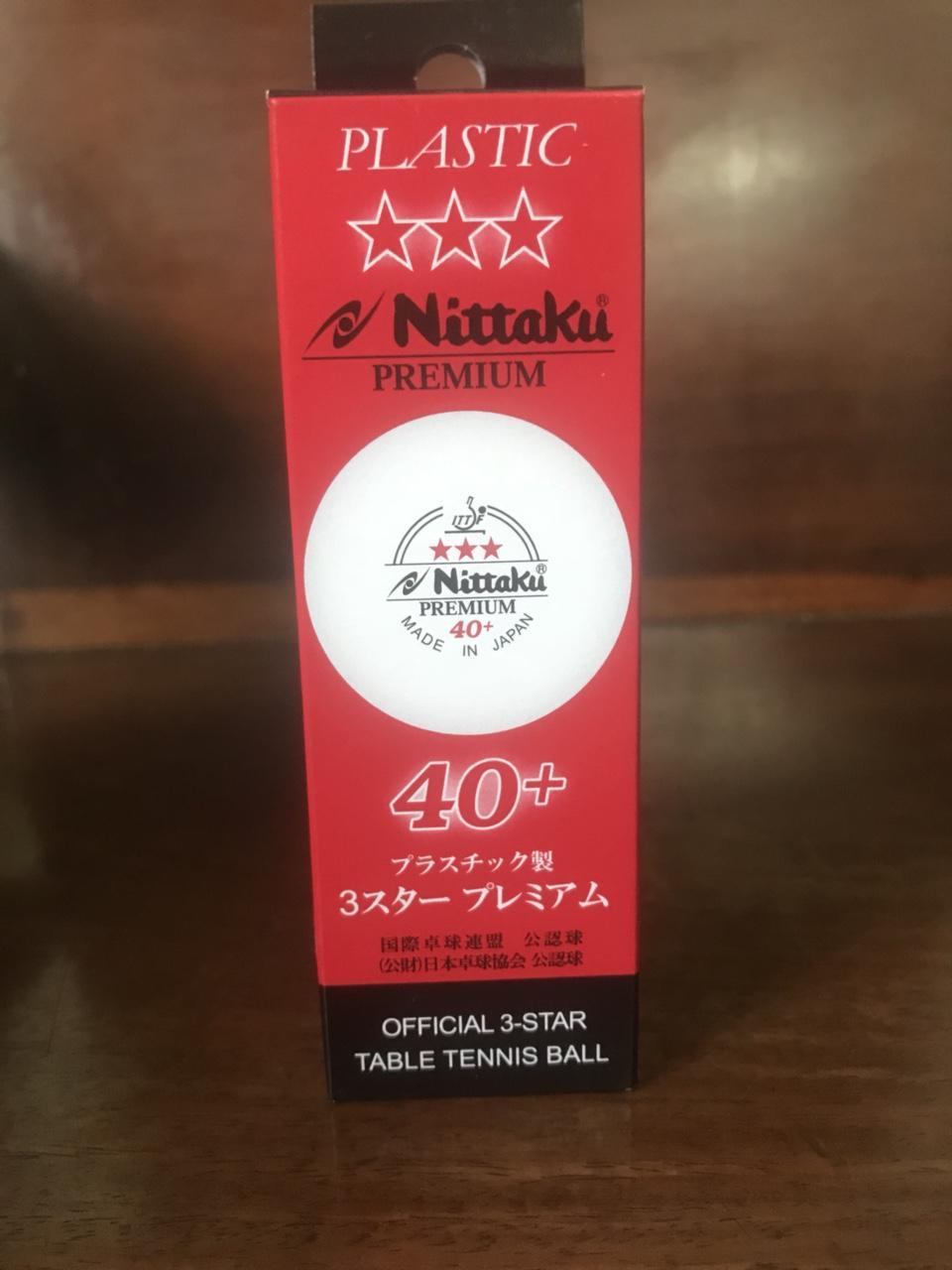 BÓNG NITTAKU PREMIUM 40+ Nhật Bản