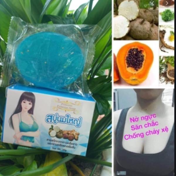 Xà Phòng Nở Ngực Princes Hàng Thái Lan Chính Hãng, Soap nở ngực Princess, Hộp 50Gr
