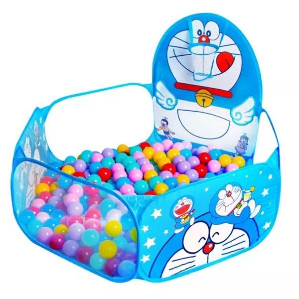 Lều bóng cho bé - Nhà banh nhiều hình ngộ nghĩnh cho bé thỏa mái vui đùa KÈM 100 BÓNG NHỰA , quây bóng