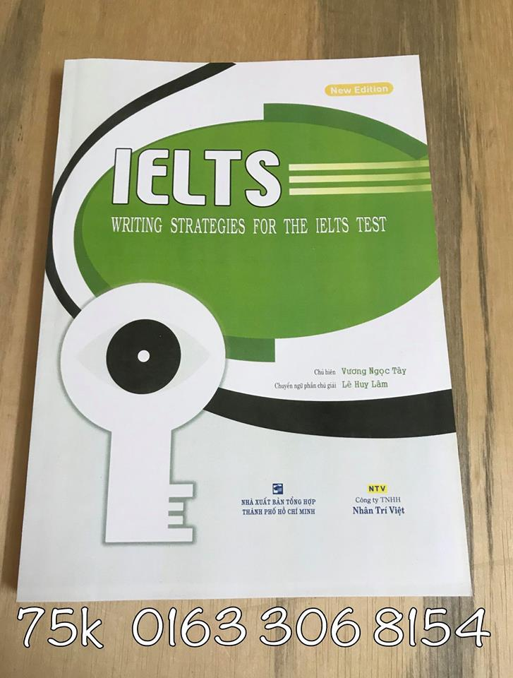 Voucher Giảm Giá IELTS - Strategies For The IELTS Tests - Writing