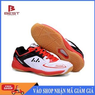 Giày cầu lông nam nữ Lefus L85 đế kếp chống trơn trượt chơi được sân bê tông-giày cầu lông nam nữ-giày đánh bóng chuyền thumbnail