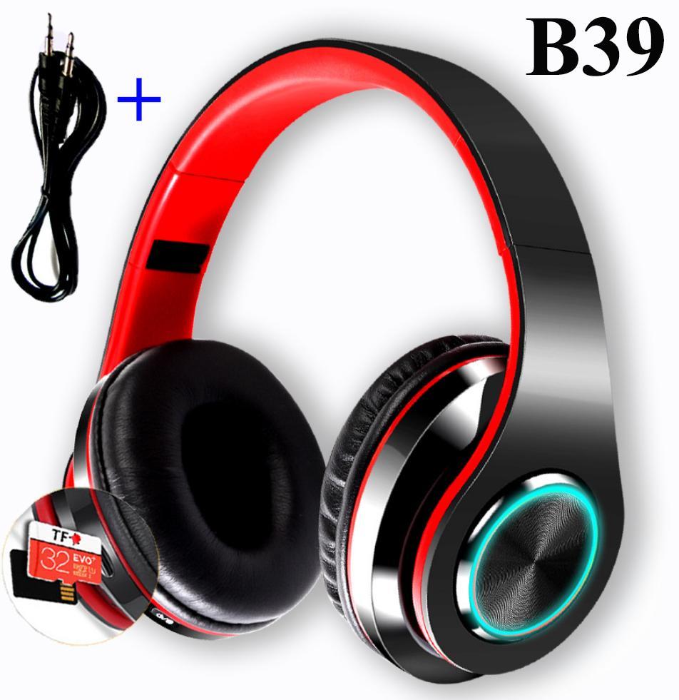 Ưu Đãi Khuyến Mại Khi Mua Tai Nghe Bluetooth Chụp Tai B39 - Hàng Nhập ( Có Hổ Trợ Thẻ Nhớ + Dây Jack 3.5mm)