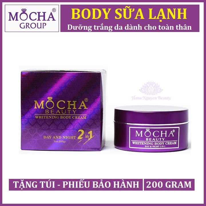 BODY SỮA LẠNH MOCHA  - Dưỡng trắng da dành cho toàn thân - Hana Nguyễn Beauty tốt nhất