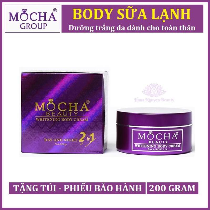 BODY SỮA LẠNH MOCHA  - Dưỡng trắng da dành cho toàn thân - Hana Nguyễn Beauty nhập khẩu