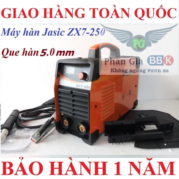 Máy hàn mini Jasic 250A - bảo hành 12 tháng ,máy hàn que 250A , máy hàn điện tử , máy hàn mini gia đình