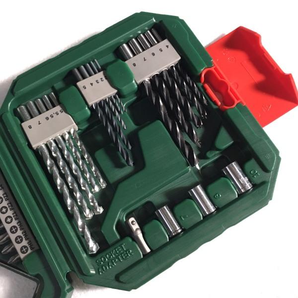 Bộ mũi khoan và vặn vít Bosch X-Line 34 món